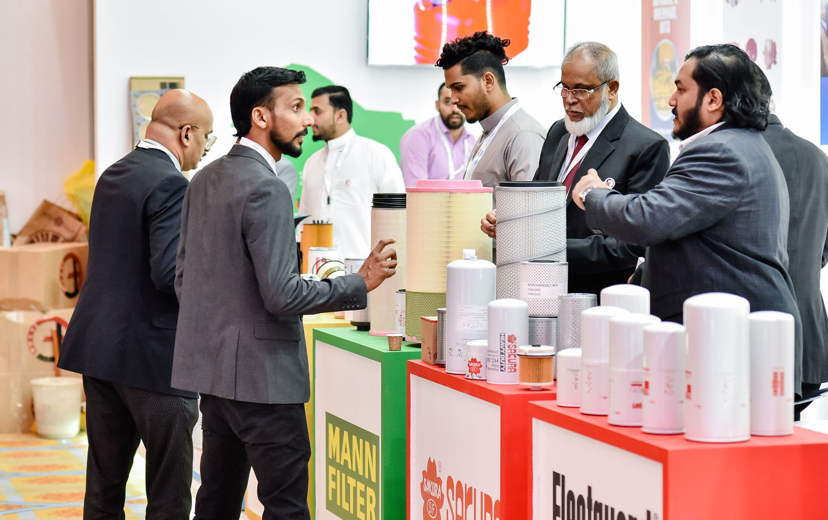 Exhibitors at Automechanika Dubai